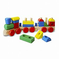 M&D WOODEN STACKING TRAIN