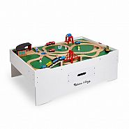 MELISSA & DOUG Multi-Activity TRAIN TABLE