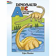 Dinosaur ABC Coloring Book