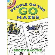 Dover Books - MAZES PEOPLE ON THE GO