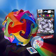 "Geosphere™ 16"" LED 30pc. Puzzle Lamp Kit Multicolour"