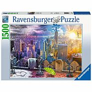 RAVENSBURGER 1500pc Puzzle -Seasons of New York