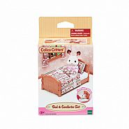 CALICO CRITTERS BED & COMFORTER SET