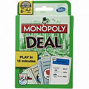 HAS MONOPOLY DEAL CARD GAME