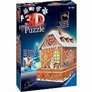 Ravensburger 3D Ginger Bread House Puzzle