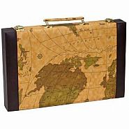 CHH BACKGAMMON - OLD MAP CASE