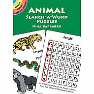DOVER ANIMAL SEARCH A WORD