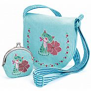 DJECO Embroidered Bag and Purse Kitten