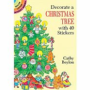 Dover Books Decorate a Christmas Tree Sticker Activity Book