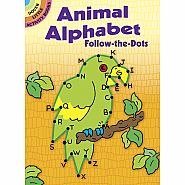 Dover Books Follow the Dots - Animal Alphabet
