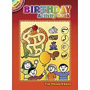 Dover Books Birthday Activity Book