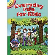 Dover Books Everyday Fun For Kids Activity Book