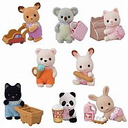 CALICO CRITTERS BABY SHOPPING MINIFIGURES