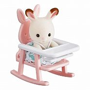 CALICO CRITTERS BABY CARRY CASE HIGH CHAIR
