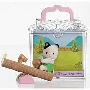 CALICO CRITTERS BABY CARRY CASE SEE-SAW
