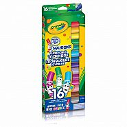 CRAYOLA 16 PIP SQUEAKS WASHABLE MARKERS