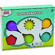 LIL HERO TEXTURED BALL 6 PC