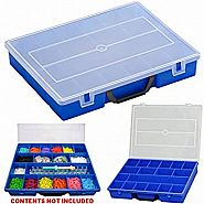 RAINBOW LOOM BLUE STORAGE CASE