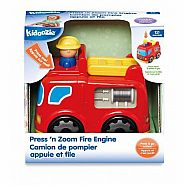 KIDOOZIE FIRE ENGINE PRESS N ZOOM